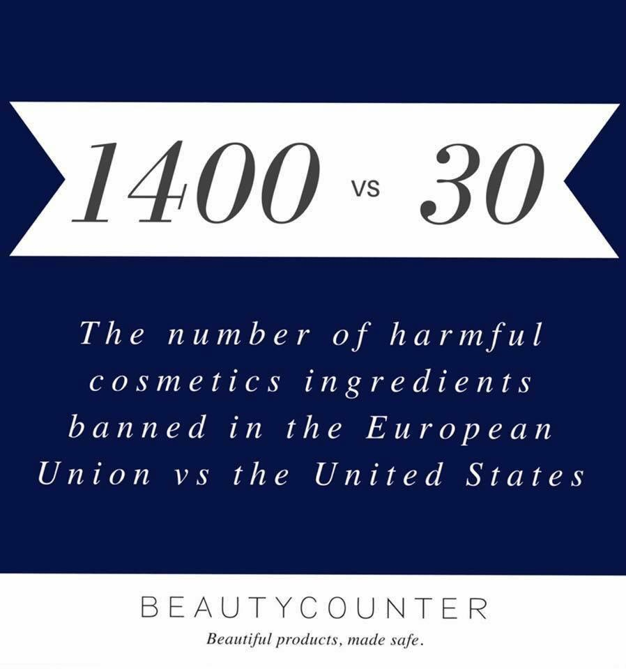 1400 EU vs 30 US banned cosmetics