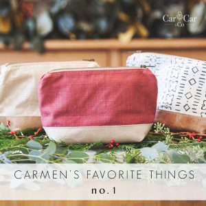 Day 1 of 12 Days of Carmen's Faves